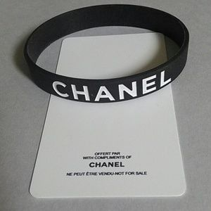 Chanel VIP Silicone Bracelet